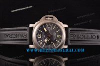 Panerai PAM089 Luminor GMT 1:1 Titanium Case Black Rubber Strap Asia 7750-CHG-MD Ref.PAM 00089