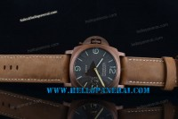 Panerai PAM127 Luminor 1950 8 Days Lefe-Handed PVD Case Black A6497