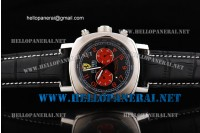 Panerai Ferrari Scuderia Chronograph Automatic Movement Black Dial with Red Numerals