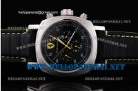 Panerai Ferrari Scuderia Rattrapante Automatic Movement Steel Case Black Dial