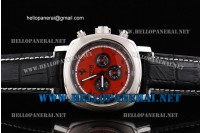 Panerai Ferrari Granturismo Chronograph Mens Watch FER00013 Red Dial with Black Subdials