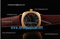Panerai Radiomir Automatic Rose Gold Diamond Bezel & Markers