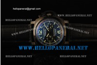 Panerai Special Edition 2006 Luminor Regatta Flyback PVD Case Auto