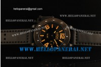 U-Boat U-42 53mm Submersible Watch PVD Orange