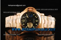 Panerai Special Edition 2002 Luminor GMT Regatta Full Rose Gold Auto