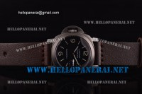 Panerai Special Edition 2008 Left-Handed Luminor Marina 1:1 Original ETA 6497 PAM 00026