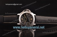 Panerai PAM 366 Luminor Marina Fu Steel Case Black Dial ETA 6497 Ref.PAM 00366