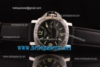 Panerai PAM029 Luminor GMT SS/LE Black A-ST25
