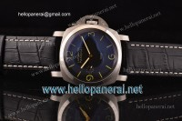 Panerai PAM127 Luminor 1950 SS Case Black Dial A-6498