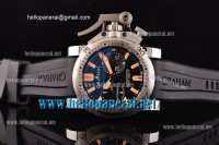Graham Chronofighter Oversize Diver And Diver/Date SS Black A-7750-SHG Ref.20VES.B02B.K10B