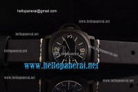 Panerai PAM004 Luminor Marina PVD Black ETA 6497