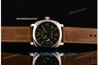 Panerai PAM 422 Luminor Marina SS Black Dial Asia 6497 Manual Winding