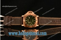 Panerai Luminor Submersible 1950 3 Days 1:1 Original(Z) Bronze Green Dial P.9000 5225R-004