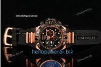 Invicta Subaqua Chrono RG Black Lattice Dial SW Original Quartz Ref. 6512P