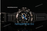 Invicta Subaqua Chrono PVD Black Lattice Dial SW Original Quartz Ref.6582BL