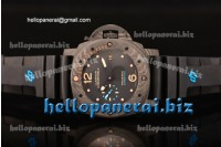Panerai Luminor Submersible 1950 Carbotech CF Black Dial Clone Panerai P.9000 Ref.PAM 616 1:1 Original (KW)