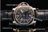 Panerai Luminor Firenze GMT SS Blue Dial A7750 Ref.PAM 228 (H)