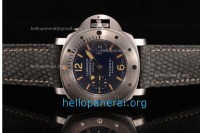 1:1 Panerai Luminor Submersible 1000m La Bomba SS Blue Dial A7750 Ref.PAM087 (H)